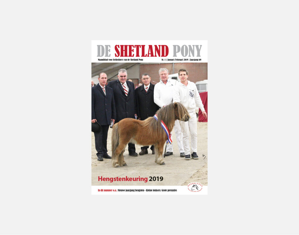 Cover magazine shetlandpony